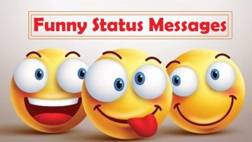 Funny Status Messages